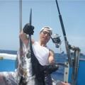 スピニングタックルで釣ったマーリン