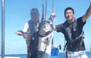 6出船連続で釣れたカジキ
