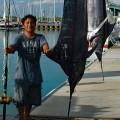 カジキ2本釣り上げた船頭