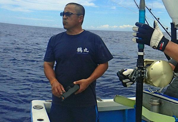 クレーンズ沖縄、鶴丸、船長:鶴巻守