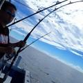 シイラ釣り男性