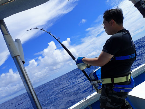 カジキ釣り