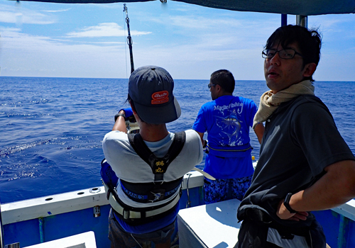 marlin hanting in okinawa japan