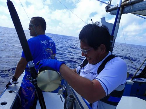 marlin fishing ij okinawa japan