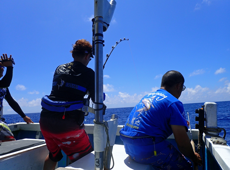 marlin fishing in okinawa japan