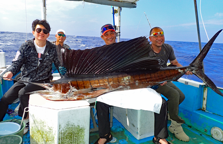 sailfish fishing in okinawa japan