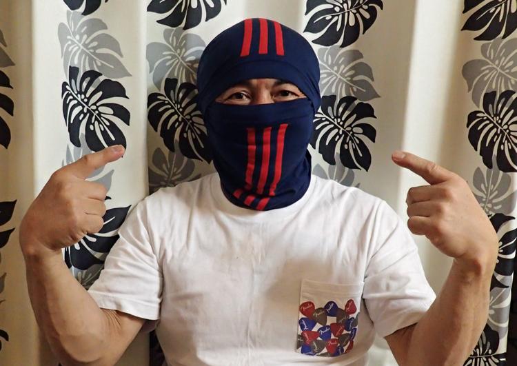 パンツでマスク