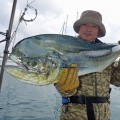 mahimahi fishig in okinawa japan