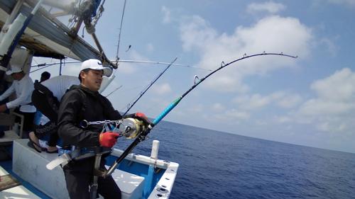 wahoo fishing in ginowan city okinawa japan