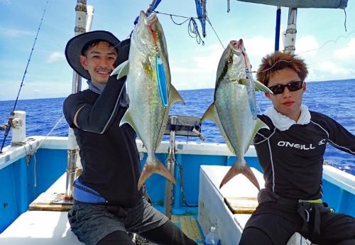 amberjack fishing in okinawa japan