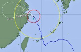 2021年台風6号
