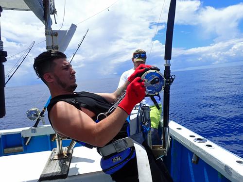 malrlin fishing in okinawa japan