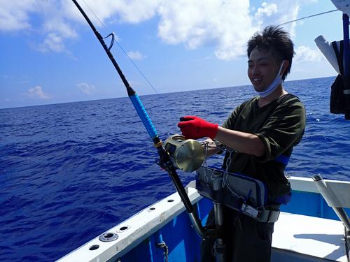 カジキ釣り沖縄