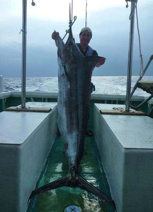 2012年5月8日、カジキ70kg