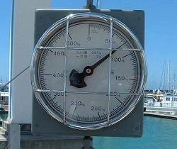宜野湾マリーナでカジキ検量77キロ