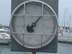 宜野湾マリーナで検量マカジキ60kg